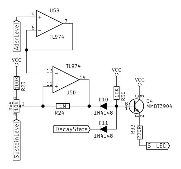 adsr envelope generator module
